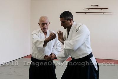 Practicing Aikido in Jerusalem, Israel
