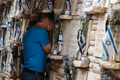 Memorial Day Commemorated in Jerusalem, Israel