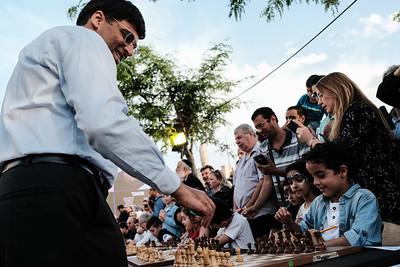 Chess Festival in Jerusalem, Israel