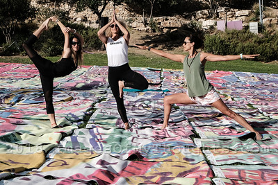 International Yoga Day in Jerusalem, Israel