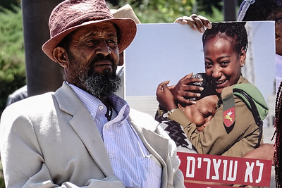 Ethiopian Israelis Demonstrate in Jerusalem, Israel