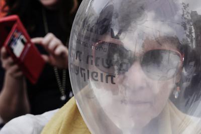 Violence Against Women Protest in Jerusalem, Israel