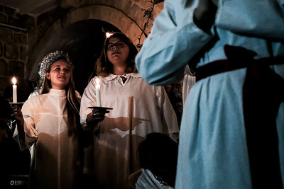 Saint Lucy's Celebration in Jerusalem