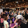 GILLIAN JONES— THE BERKSHIRE EAGLE<br /> Hundreds of people attend the annual Best of the Berkshires at The Stationary Factory in Dalton on Thursday.