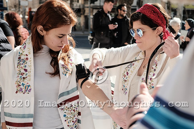 World Wide Wrap Day in Jerusalem, Israel