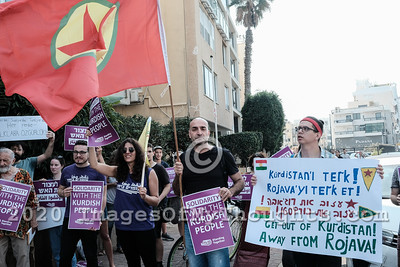 Tel Aviv Protest Denounces Turkey