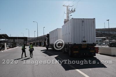 Israeli Palestinian Coexistence at Tarqumiyah Crossing
