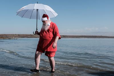 50 Santas Vacation in Israel