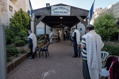 COVID-19: SOCIAL DISTANCING: Judaism in Jerusalem