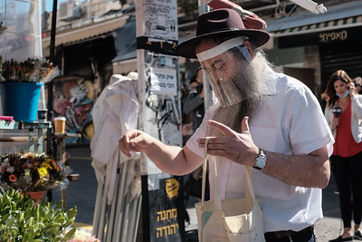 COVID-19: RECOVERY: Shuk Opens in Jerusalem