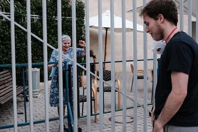 COVID-19: SOCIAL DISTANCING: Visiting Elderly in Jerusalem