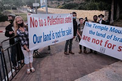 Israeli Annexation of West Bank Territories