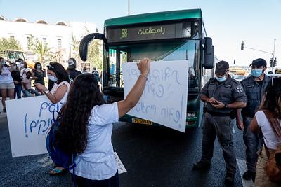 Social Workers Protest in Jerusalem