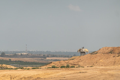 Incendiary and Explosive Balloons on the Gaza Border