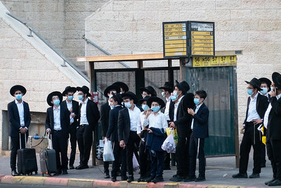 COVID-19: LOCKDOWN: Night Curfew in Jerusalem, Israel