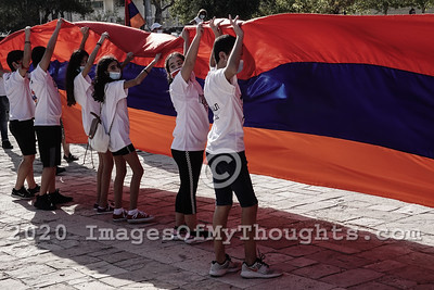 Armenians Protest Arms Supply to Azerbaijan in Jerusalem