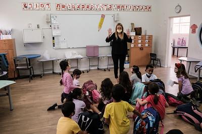 COVID-19: BACK TO SCHOOL: Israel