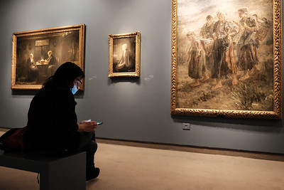 COVID-19: DAILY LIFE: Israel Museum in Jerusalem