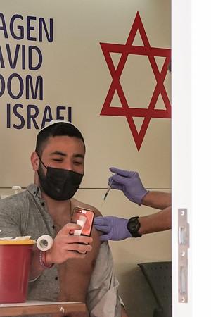 COVID-19: VACCINE: Jerusalem