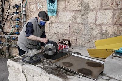 Passover 2021 in Jerusalem, Israel