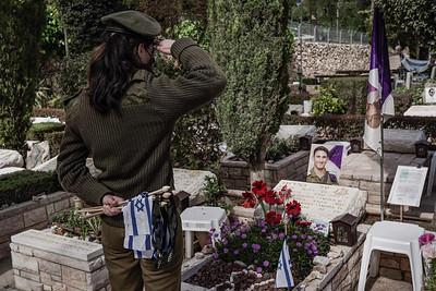 Memorial Day 2021 Preparations in Jerusalem