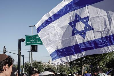 Dance of Flags 2021 in Jerusalem, Israel