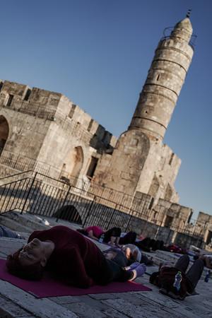 International Day of Yoga - Jerusalem