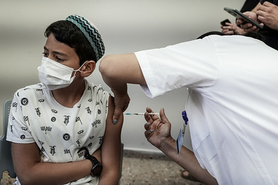 COVID-19: VACCINE: Youth in Israel