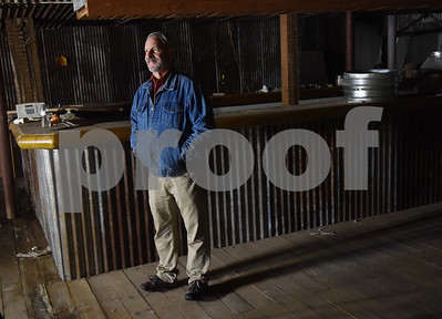 Building owner John O'Sullivan talks about his plans to turn the old New York Store into multiple loft style apartments.  (Sarah A. Miller/Tyler Morning Telegraph)