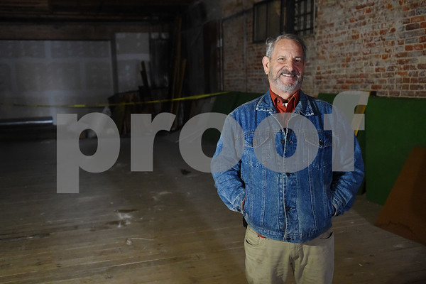 Building owner John O'Sullivan plans to turn the old New York Store, pictured here, into multiple loft style apartments.  (Sarah A. Miller/Tyler Morning Telegraph)