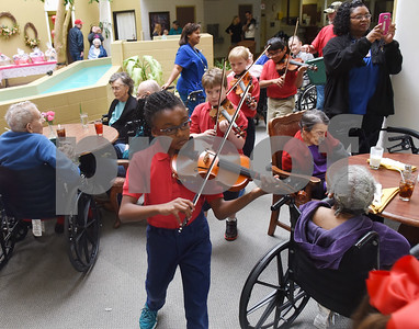 Violins for senior citizens