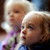 "Dalia Arch-Andorski, 2, listens to the stories being read during Story Time at the Boulder Public Library in Boulder, Colorado February 23, 2012. CAMERA/MARK LEFFINGWELL<br /> <br /> <br /> See video of Story Time at  <a href=""http://www.dailycamera.com"">http://www.dailycamera.com</a>"