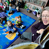"Mary Jane Holland reads ""Where's My Truck""  during Story Time at the Boulder Public Library in Boulder, Colorado February 23, 2012. CAMERA/MARK LEFFINGWELL<br /> <br /> <br /> See video of Story Time at  <a href=""http://www.dailycamera.com"">http://www.dailycamera.com</a>"