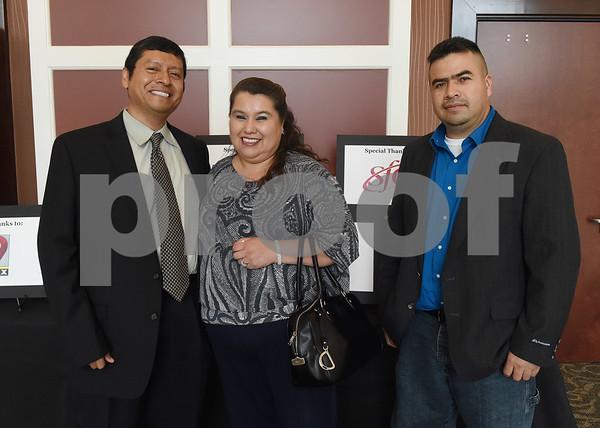 Juan Martinez, Norma Martinez and Pedro Martinez  (Sarah A. Miller/Tyler Morning Telegraph)