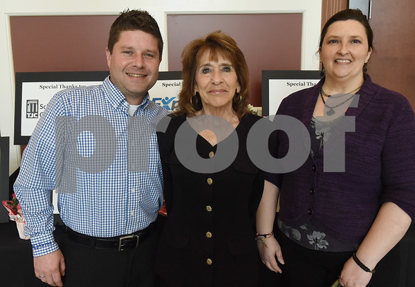 Chris Bollinger, Cheryl Benson and Cori Edson  (Sarah A. Miller/Tyler Morning Telegraph)