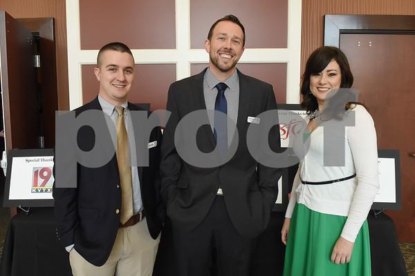 Josh Brents, Collin Phaup and Tabitha Cook  (Sarah A. Miller/Tyler Morning Telegraph)