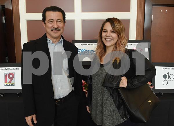 Edgar Galdamez and Natalie Cooper  (Sarah A. Miller/Tyler Morning Telegraph)
