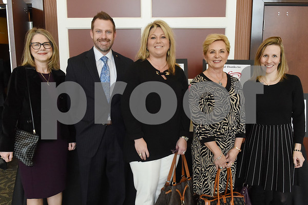 Amy Proctor, Lane McDaniel, Stephanie Shirley, Chan Turner and Abby Duty  (Sarah A. Miller/Tyler Morning Telegraph)
