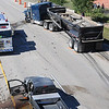 BE0912LAF09.jpg BE0912accident09<br /> Lafayette Fire and Police at the scene of an accident between a small pickup and a semi truck on north bound US 287 north of South Boulder Road on Friday.<br /> <br /> September 10, 2010<br /> staff photo/David R. Jennings