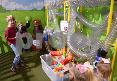 Children play at the Discovery Science Place in downtown Tyler Tuesday March 14, 2017.  (Sarah A. Miller/Tyler Morning Telegraph)