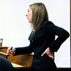 "Adam Raszinski's defense attorney Kathryn Herold interviews Gentry Roth, a blood analysis expert with the Colorado Bureau of Investigation March 16, 2012 at the Boulder County Justice Center. Raszinski is on trial for the murder of his mother Rita Redford. For more photos of the trial go to <a href=""http://www.dailycamera.com"">http://www.dailycamera.com</a>.<br /> Photo by Paul Aiken / The Boulder Camera"
