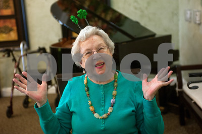 St. Patrick's Day Senior Citizen Party