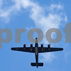 A B-24 flies over as part of the Wings of Freedom tour at the Tyler Pounds Regional Airport outside of the Historic Aviation Memorial Museum in Tyler, Texas, on Friday, March 9, 2018. The nationwide Wings of Freedom tour is celebrating its 29th year and visits an average of 110 cities in over 35 states annually.  (Chelsea Purgahn/Tyler Morning Telegraph)
