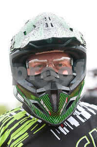 Corey Truedell of Warren, Minnesota is pictured before competing in the Arctic Cat Mudda Cross event Friday afternoon April 1, 2016 at the High Lifter ATV Mud Nationals presented by Polaris at Mud Creek Off-Road Park in Jacksonville.  (Sarah A. Miller/Tyler Morning Telegraph)