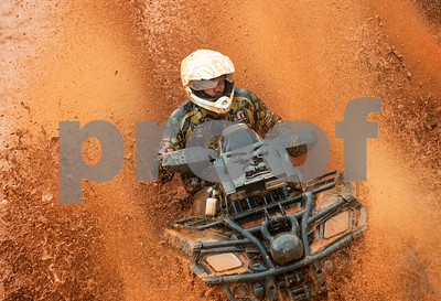 Mark Morgan competes in the Arctic Cat Mudda Cross event Friday afternoon April 1, 2016 at the High Lifter ATV Mud Nationals presented by Polaris at Mud Creek Off-Road Park in Jacksonville.  (Sarah A. Miller/Tyler Morning Telegraph)