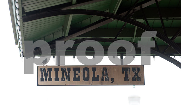 photo by Sarah A. Miller/Tyler Morning Telegraph  The Mineola station, pictured here Thursday April 9, 2015, is one of 41 stops between Chicago and Los Angeles along the Texas Eagle route. The Amtrak train offers coach cars, a lounge car, a sleeper car and dining car along this route.