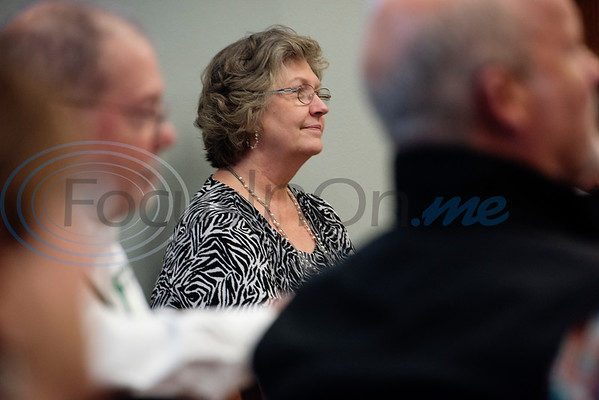 Paula Gentry, Upshur County Commissioner for Precinct 1 attends a the press conference announcing a grant for rural broadband ETCOG will receive from the U.S. Economic Development Administration.  (Sarah A. Miller/Tyler Morning Telegraph)