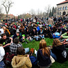 POT<br /> A crowd of 10,000 people gathered at the 4/20 smoke-out on the University of Colorado campus on Wednesday.<br /> Photo by Marty Caivano/April 20, 2011