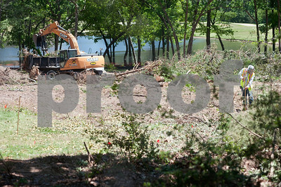 photo by Sarah A. Miller/Tyler Morning Telegraph  Work begins clearing land for the W.T. Brookshire Hall, home of Ben and Maytee Fisch College of Pharmacy, slated to open fall 2015 on the campus of the University of Texas at Tyler.