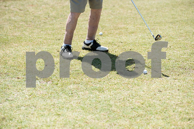 JW Gresham, 97, golfs during the Sharon Shriners Golf Tournament on April 7, 2017 at Pine Springs Golf Club in Tyler.  (Sarah A. Miller/Tyler Morning Telegraph)